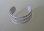 Teenring wit aluminium