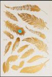 Flash tattoos veren - Goud