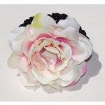 Haar elastiek bloem - Div kleuren