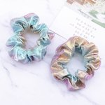 Scrunchie mermaid roze/blauw
