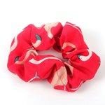 Scrunchie flamingo - Rood