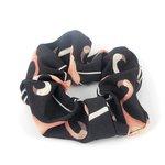 Scrunchie flamingo - Zwart