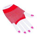 Visnet vingerloze handschoenen - kort - div kleuren