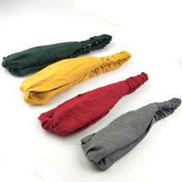 Suedelook haarbanden - div kleuren