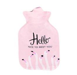 Handwarmer / mini kruik -  Hello nice to meet you