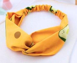 Elastische haarband avocado - Div Kleuren