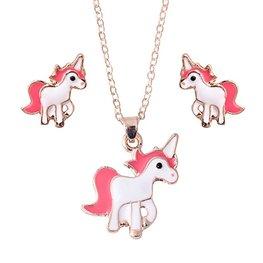 Eenhoorn/Unicorn sieraden setje
