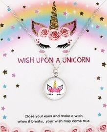 Eenhoorn/unicorn ketting op giftcard #3