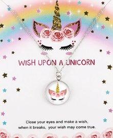 Eenhoorn/unicorn ketting op giftcard #4
