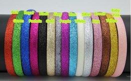 Haarband glitter - verschillende kleuren.