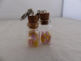 Handmade spekjes in glazen flesje
