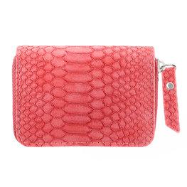 Kleine portemonnee rood