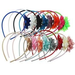 Haarband bloem - Div kleuren