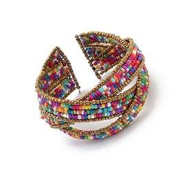 Armband boho - gekleurd