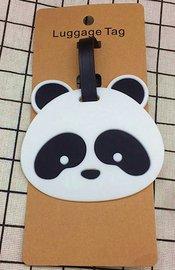 Bagage label/luggage tag panda