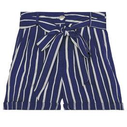 Korte broek stripes - Blauw Maat S