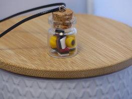 Handmade Ketting - Engelse drop jar