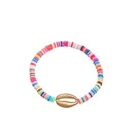 Armband summer gold shell - Multi