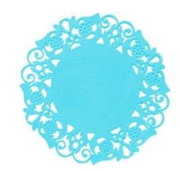 Silicone onderzetter - Blauw