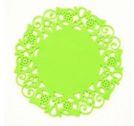 Silicone onderzetter - Groen