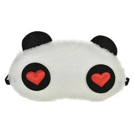 Slaapmasker panda heart