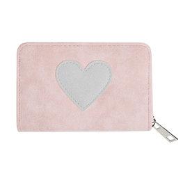 Portemonnee hartje - Roze