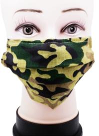 Mondkapje - Army