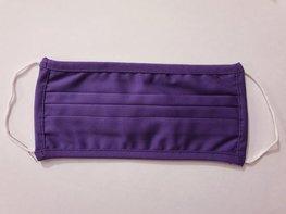 Mondkapje - Donker paars