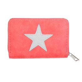 portemonnee glittery star - Rood