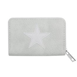 portemonnee glittery star - Grijs