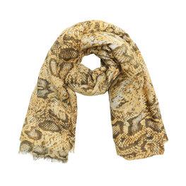 Sjaal dessert snake - Oker geel