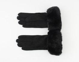 Handschoenen furr - Zwart