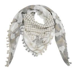 Sjaal camo - Beige