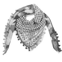 Sjaal camo - Grijs
