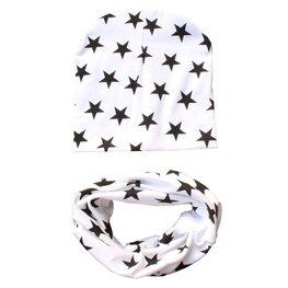Peuter setje - Stars white
