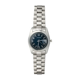 Horloge be on time - Blauw