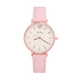 Horloge little time - Roze/Rose gold