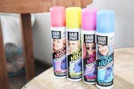 Catch & shine - Neon haarspray Blauw