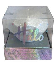 Halo diamond shiny bath fizzer