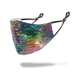 Mondkapje - Rainbow shine