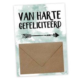 Geldkaart - Van Harte