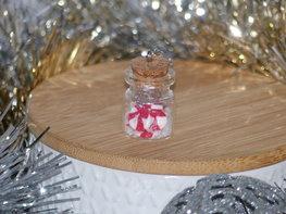 Handmade Bedel - Candy cane jar