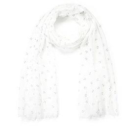 Sjaal anker - Wit