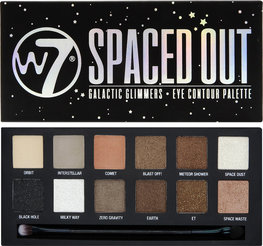 W7 Spaced out oogschaduw palette