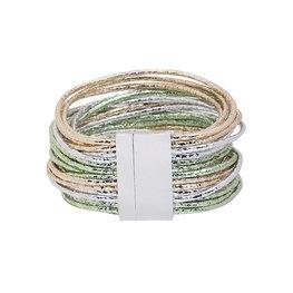 Armband glam - Groen