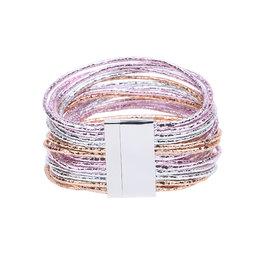 Armband glam - Roze