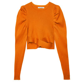 Crop top cross - Oranje (S)