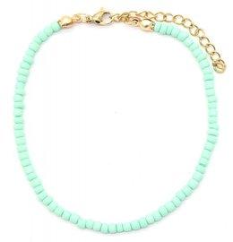 Armband glass beads - Blauw