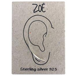 Sterling silver  earlines / oorbellen stripe