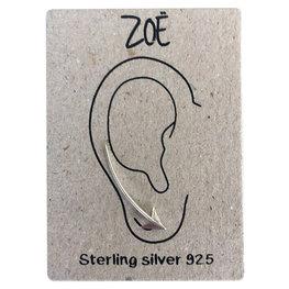 Sterling silver  earlines / oorbellen pijl